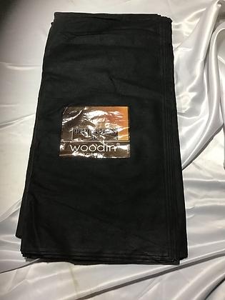 Woodin Fabric, black