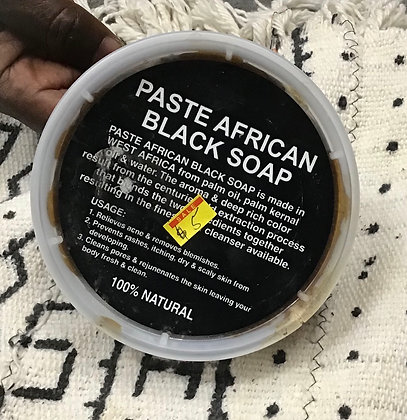 Black Soap Paste