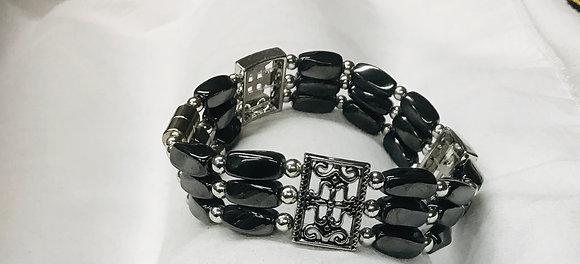 Beaded  Magnetic Bracelet