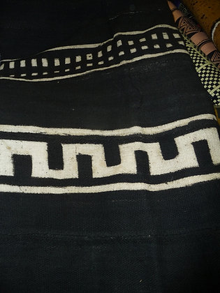 Black & White Mud Cloth Fabric