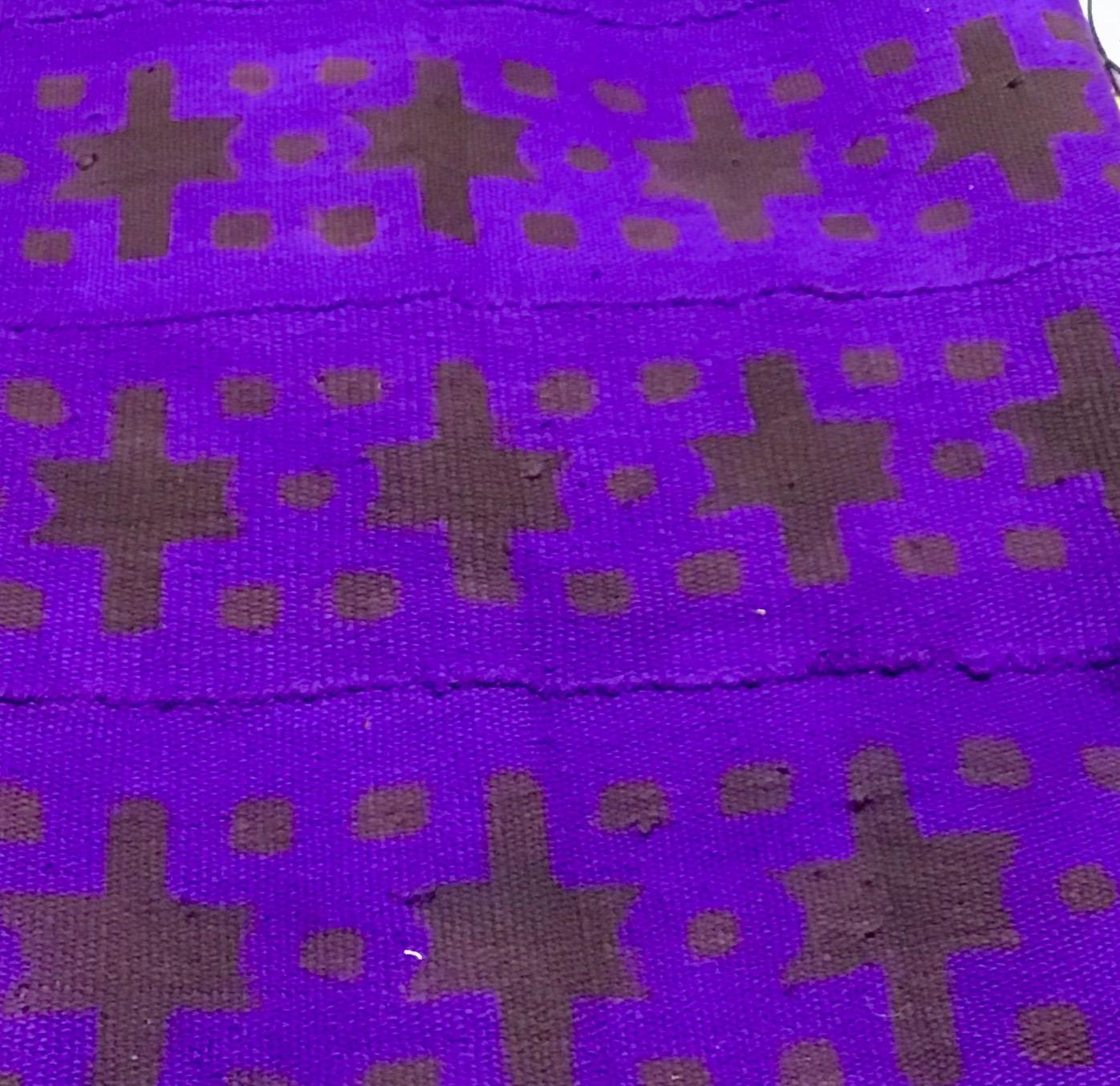 Purple Mud Cloth