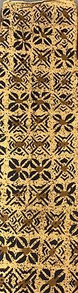 African Mud Cloth PRINT Fabric - #89- beige/brown