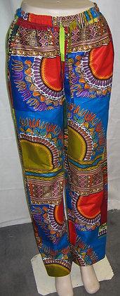 Dashiki Print Pants
