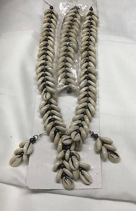 Cpwrie Shell Necklace, Earrings and Bracelet