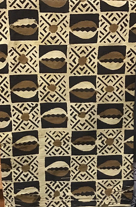 African Mud Cloth PRINT Fabric - #30