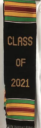 Kente Scarve 2021 Graduates