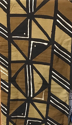 African Mud Cloth PRINT Fabric - #29