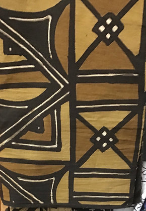 African Mud Cloth PRINT Fabric - #43