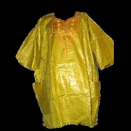 Yellow & Gold Dashiki