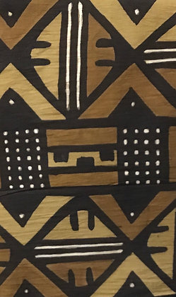 African Mud Cloth PRINT Fabric - #48