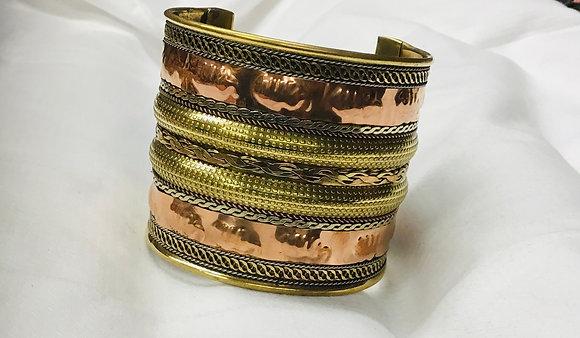 Copper and Brass Cuff