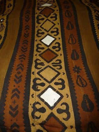 Brown, Black & Beige Mud Cloth