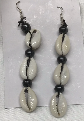 3  - Cowrie Shell Hanging Earring