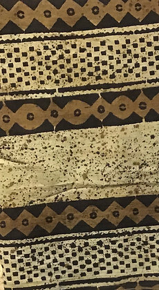 African Mud Cloth PRINT Fabric - #27