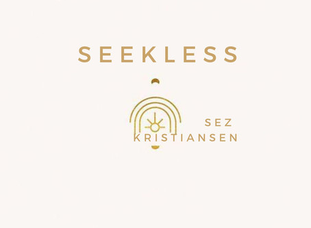 SEEKLESS, the new poetic meditation podcast from Sez