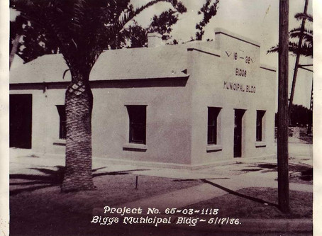 Franklin D Roosevelt's contribution to our community - Biggs Municipal Building 1936