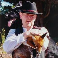 Martin with Rescue Fox