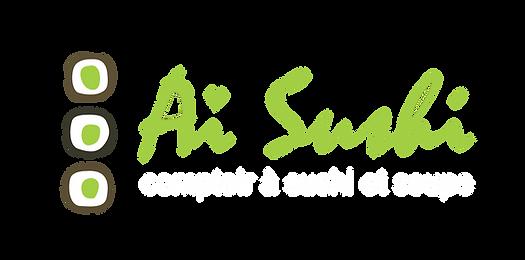 logo aï sushi comptoir à suhi et soupe