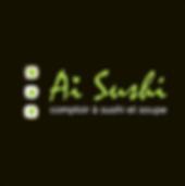 Logo Aï Susi comptoir à sushi et soupe