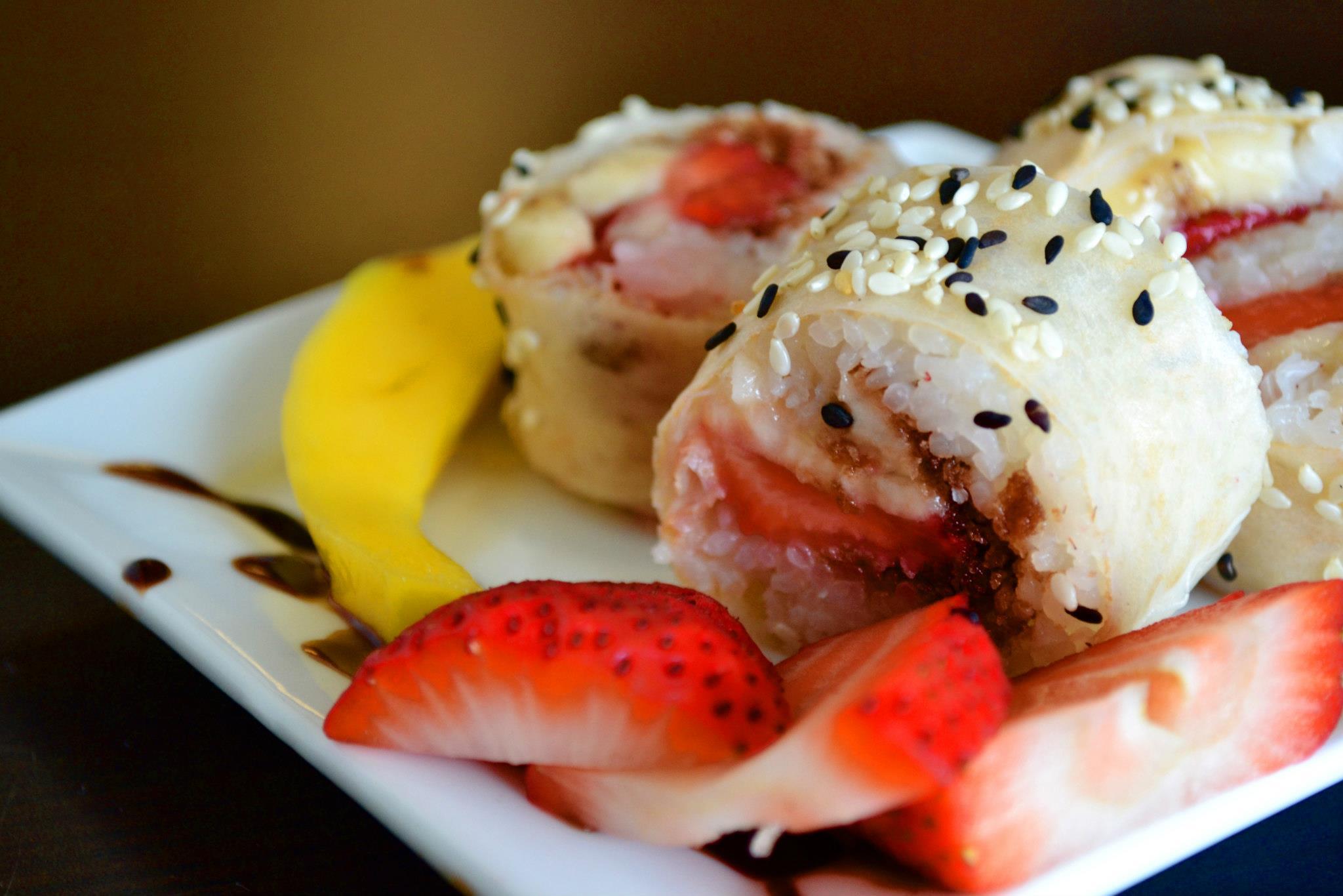 sushi dessert