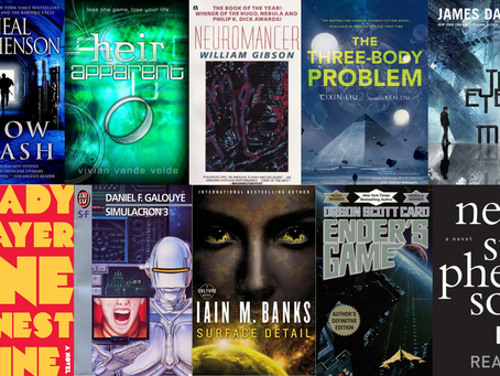 Reading list: 50 books featuring AR and VR technology