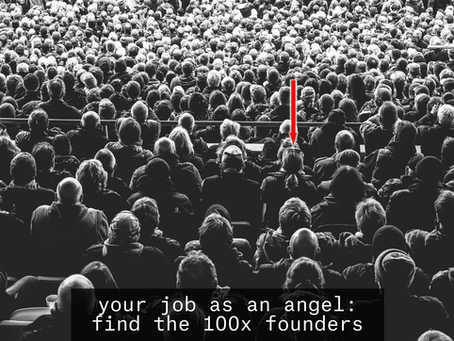 How to angel invest, part 5: good founder qualities (and red flags)