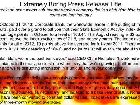 The 7 deadly sins of bad press releases