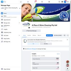 A Place to Shine Cleaning Service Digital Media Marketing