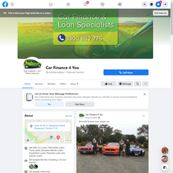 Car Finance 4 You Website Design