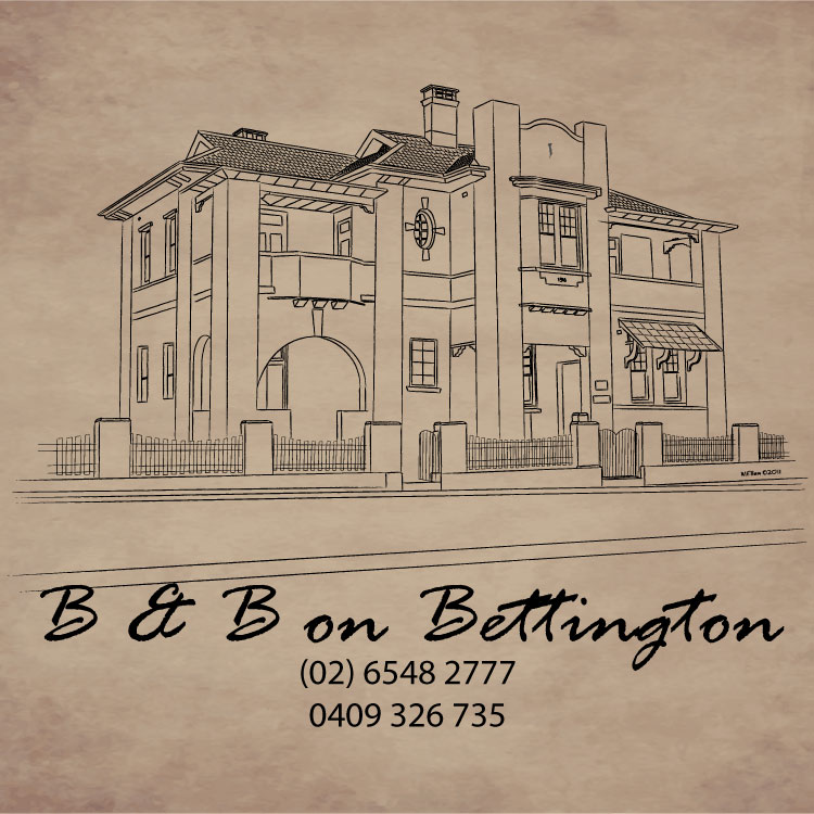 B and B on Bettington