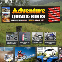 Adventure Quads and Bikes is a retailer of Asian made ATVs and Motorcycles, situated in Thornton, NS