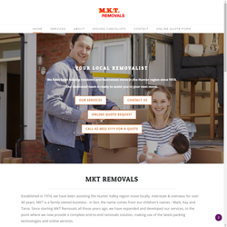 MKT Removals Web and Graphic Design