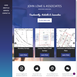 John Lowe and Associates Web and Graphic Design