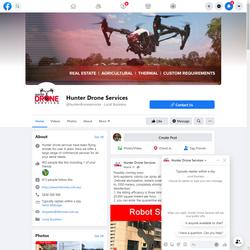 Hunter Drone Services Graphic Design and Digital Media Marketing