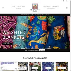 Nana's Weighted Blankets Website Design