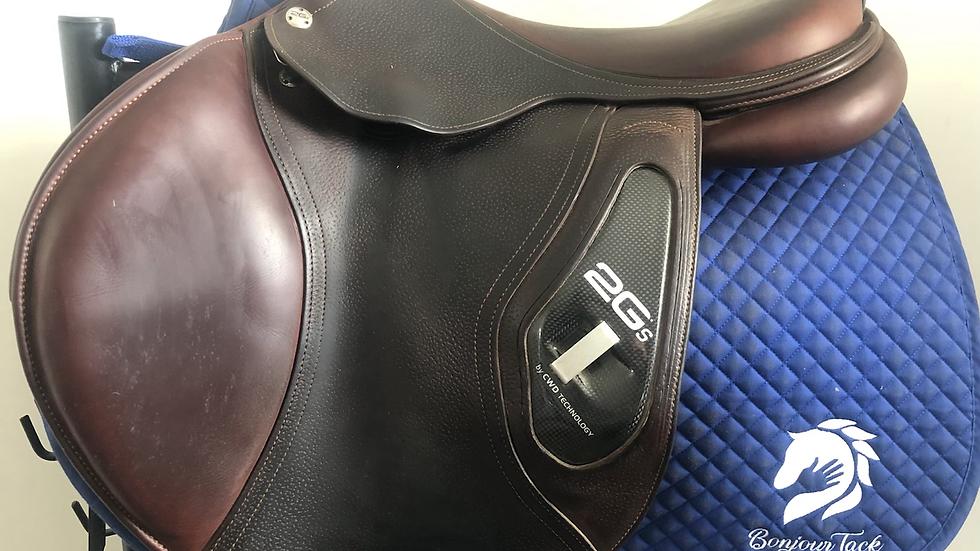 "18"" CWD 2Gs se25 saddle - 2014 - 3C - 4.5"" dot to dot"