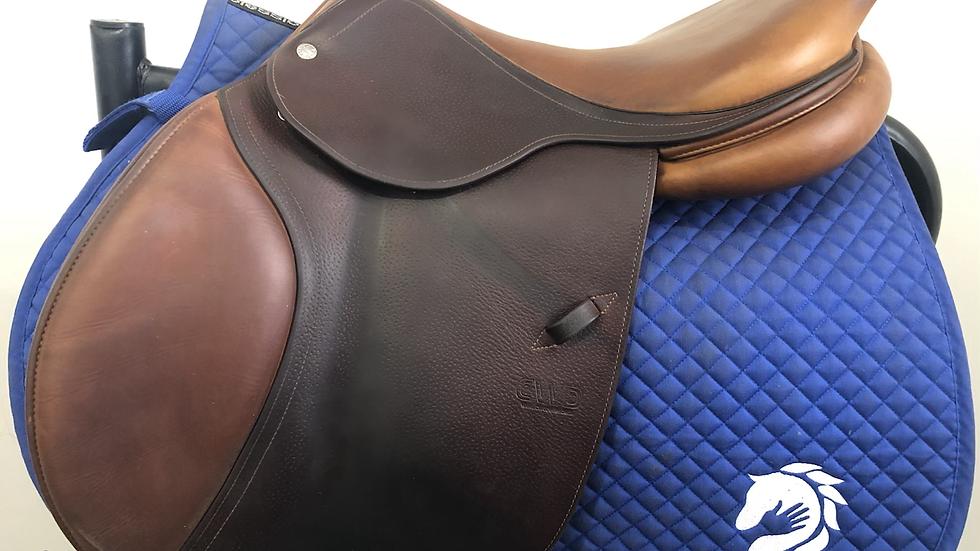 "17.5"" CWD se02 saddle - 2014 - 3L - 4"" dot to dot"