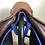 """Thumbnail: 17.5"""" Luc Childeric M saddle - 2000 - 3 1/4 L - 4.5"""" dot to dot"""