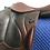 """Thumbnail: 18"""" Devoucoux Chiberta saddle - 2014 - 3A - 4.5"""" dot to dot"""