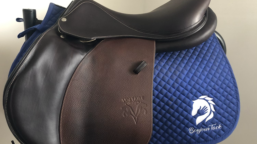 "18.5"" Voltaire Palm Beach saddle - 2017 - 3AR - 5"" dot to dot"