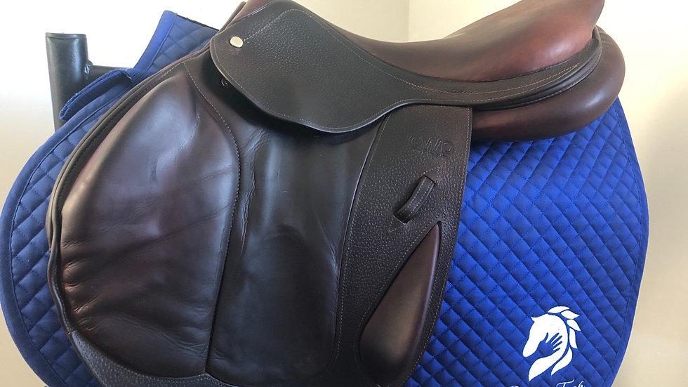 """17.5"""" CWD se04 saddle - 2014 - 2A - 4"""" dot to dot"""