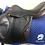 """Thumbnail: 17"""" Prestige Michel Robert saddle - medium narrow 32cm adjustable"""