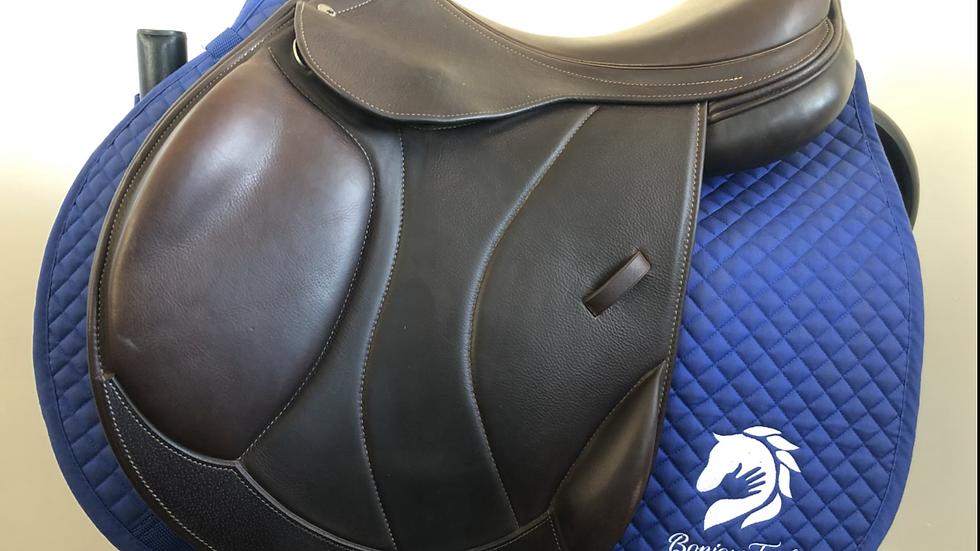 """17.5"""" Intrepid pro trainer saddle - adjustable tree medium tree"""