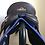 "Thumbnail: 17"" Bates ap wide saddle - adjustable tree"