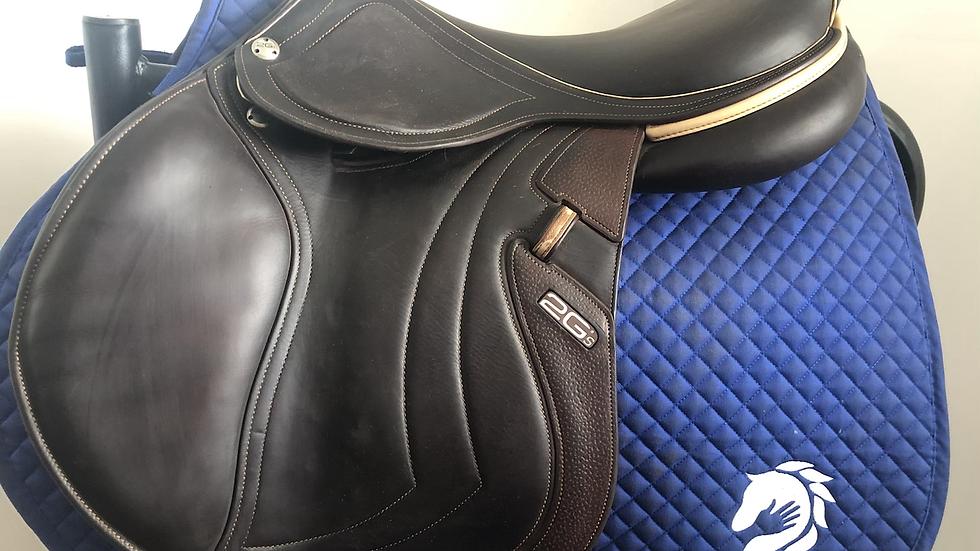 "17.5"" CWD Mademoiselle se32 saddle - 2016 - 2C - 4.75"" dot to dot"