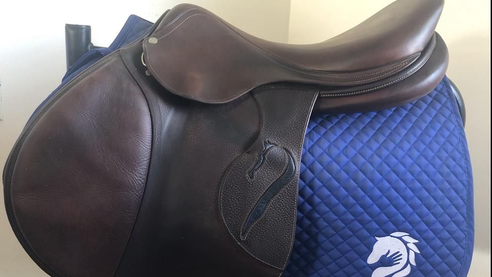"18"" Antares Classique saddle - 2014 - 3AA - 4.75"" dot to dot"