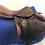 """Thumbnail: 18"""" Devoucoux Ioldy saddle - 2010 - 1AA- 4.25"""" dot to dot"""