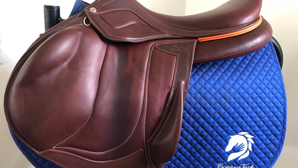 "18"" Devoucoux Chiberta lab D3D saddle - 2019 - 3AA - 4"" dot to dot"