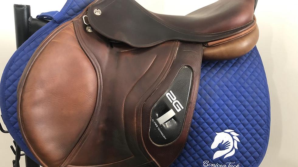 "17.5"" CWD 2G se17 saddle - 2011 - 3C - 4.5"" dot to dot"