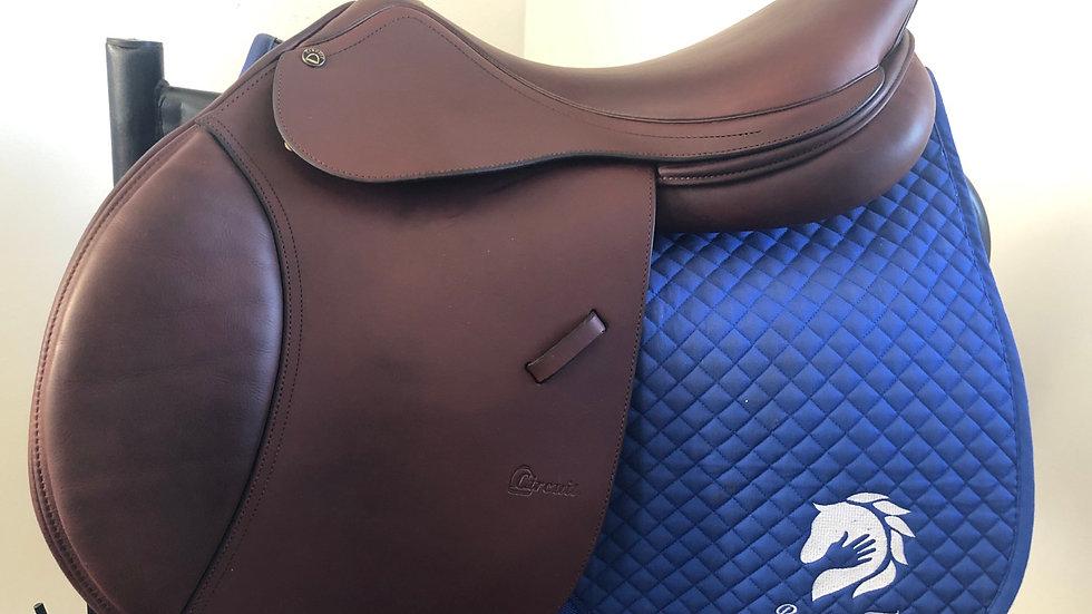 "18"" Circuit RTF saddle - adjustable"